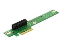 Bild von DELOCK PCIe-Riser-Karte x4 90 gewinkelt links