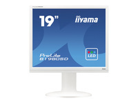 Bild von IIYAMA ProLite B1980SD 48,3cm 19Zoll LED 5ms DVI 250cd/m² Lautsprecher Hoehenv. Pivot Weiss