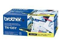 Bild von BROTHER TN-135 Toner gelb hohe Kapazität 4.000 Seiten 1er-Pack