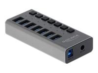 Bild von DELOCK Externer USB 3.0 Hub mit 7 Ports + Schalter