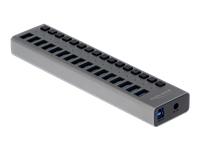 Bild von DELOCK Externer USB 3.0 Hub mit 16 Ports + Schalter