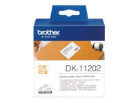 Bild von BROTHER P-Touch DK-11202 die-cut mailing label 62x100mm 300 labels