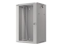 LANBERG 19inch rack 18U/570x450 grey - Kovera Distribution