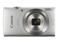 Bild von CANON Digitalkamera IXUS 185 Silber 20Megapixel 28mm Weitwinkelobjektiv 8fach optischen Zoom 16fach ZoomPlus DIGIC 4+
