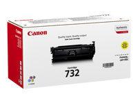 Bild von CANON 732-Y Toner gelb Standardkapazität 6.400 Seiten 1er-Pack