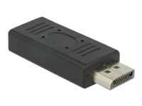 Bild von DELOCK Adapter DisplayPort 1.2 Stecker > DisplayPort Buchse 19 Pin black