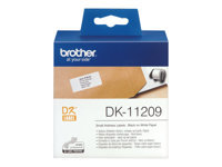 Bild von BROTHER P-Touch DK-11209 die-cut adress label small 29x62mm 800 labels