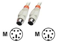 Bild von LINDY PS/2 Anschlusskabel m/m, 5m mini DIN 6p.