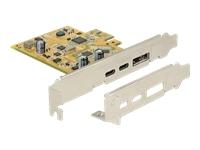 Bild von DELOCK PCI Express Karte > 1 x extern USB Type-C 3.1 Buchse + 1 x extern USB Type-C 3.1 (DP Alt Mode) Buchse
