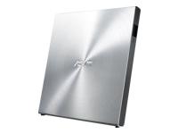 Bild von ASUS SDRW-08U5S-U UltraDrive Silber DVD Brenner extern USB 2.0 PowerOverUSB DVD 200ms/CD 200ms + Cyberlink Power2Go 8