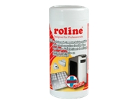 Bild von ROLINE Desinfizierende Computer-Reinigungstuecher 100 Stueck