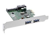 Bild von INLINE Schnittstellenkarte 4x USB 3.0 2+2 PCIe inkl. Low-Profile Slotblech