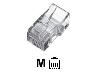 Bild von ASSMANN modular Stecker für Flachbandkabel 4P4C ungeschirmt