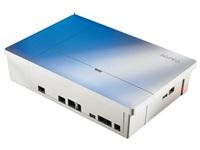 AGFEO ES 516 / fuer ISDN und ALL-IP Anschl?sse geeignet / 2x digitale Ports wahlweise ISDN extern/S0 intern/UP0 / 8x a/b intern