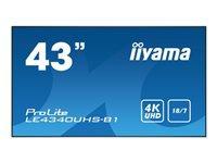 Bild von IIYAMA ProLite LE4340UHS-B1 Display 109,22cm 43Zoll