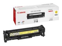 Bild von CANON 718 Toner gelb Standardkapazität 2.900 Seiten 1er-Pack