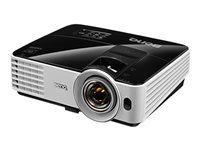 Bild von BENQ MX631ST DLP Projektor XGA 1.024x768 3200AnsiLumen 13.000:1 4:3 HDMI USB RS232 RGB 1x10W Wireless Displ. 33dB Smart Eco schwarz