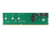 Bild von DELOCK Adapter SATA + DDR3 zu M.2 Key B