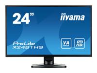 IIYAMA X2481HS-B1 60cm 23,6i TFT LED - Kovera Distribution