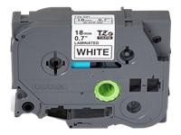 BROTHER TZE241 tape black/white 18mm 8m - Kovera Distribution