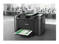 Bild von CANON MAXIFY MB5155 Schwarz A4 MFP Farb Drucker drucken kopieren scannen fax Wlan Lan Cloud-Link