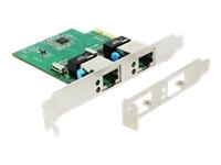 Bild von DELOCK PCI Express Karte > 2 x Gigabit LAN