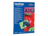 Bild von BROTHER BP-71GA3  glänzend  Foto inkjet 260g/m2 A3 20 Blatt 1er-Pack