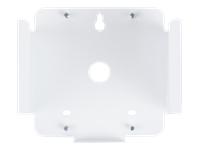 Bild von FLEXSON Connect Wandhalterung in weiss Slot-in Design für sicheren stabilen Halt Bedienelemente weiterhin erreichbar