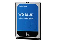 Bild von WD Blue Mobile 1TB HDD 5400rpm SATA serial ATA 6Gb/s 128MB cache 6,4cm 2,5Zoll 7mm Heigth RoHS compliant intern Bulk