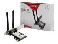 Bild von INTER-TECH DMG-31 WiFi PCIe Adapter - 300 Mbps ueber PCIe