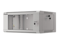 LANBERG 19inch rack 4U/570x450 grey - Kovera Distribution