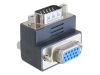 Bild von DELOCK Adapter VGA-St/Bu 270 Grad gewinkelt