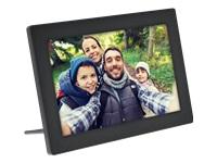 Bild von INLINE digitaler WIFI Bilderrahmen WiFRAME 25,65cm 10,1Zoll 1280x800 16:9 LCD IPS Touchscreen schwarz