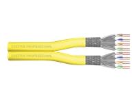 Bild von DIGITUS CAT 7A Klasse FA S/FTP Twisted Pair Installationskabel 500m Duplex 1500MHz