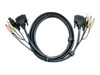Bild von ATEN 2L-7D05UD KVM-Kabel DVI USB Audio 5.0m 14016655