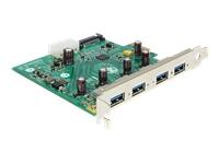 Bild von DELOCK USB 3.0 PCI Express Karte zu 4 x extern Type-A