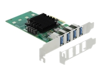 Bild von DELOCK PCI Express x4 Karte zu 4xextern USB 3.0 Quad Channel - Low Profile Formfaktor