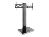 Bild von HAGOR Info-Tower Dual L Standsaeule fuer 2 Displays von 102-140 cm inklusive TV Aufnahme PLW 1650 2 x VESA 200x200 - 600x400