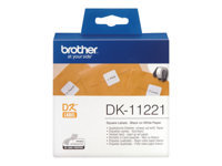 Bild von BROTHER P-Touch DK11221 23mm x 23mm Permanent Adhesive Square Labels