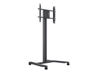 Bild von HAGOR BrackIT Stand Single mobiles Standsystem fuer Displays von 116-165cm 46-65Zoll Tragl max 60kg VESA 800x500mm neigbar drehbar