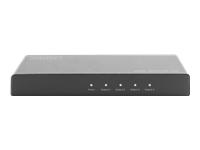 Bild von DIGITUS DS-45325 4K HDMI Splitter 1x4 4K2K UHD/60Hz EDID HDR HDCP schwarz