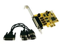 Bild von EXSYS 44044 2 PCIe x1 Karte 4x seriell RS23 15061137