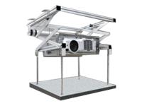 Bild von CELEXON Deckenlift PL300 30cm Hub 15kg prof. Beamer-Deckenlift kompakt fuer abgehaengte Decken Einbautiefe nur 12/17cm -Z-