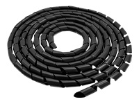 QOLTEC 52252 Qoltec Cable organizer 10mm - Kovera Distribution