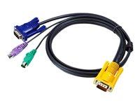 Bild von ATEN 2L-5201P KVM-Kabel VGA PS2 1.2m 14016604