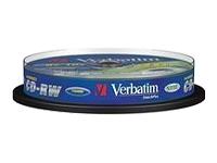 VERBATIM 10x CD-RW DLP 700MB 12X SP - Kovera Distribution