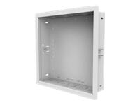 Bild von PEERLESS-AV IB14X14-W In-wall Box 365x365mm für Strom und Verkabelung inTrockenbauwand - Farbe weiss