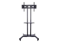 Bild von MULTIBRACKETS M Public Floorstand mobiler Standfuss fuer Displays von 32-63 Zoll max VESA 700x400 max Traglast 50 kg