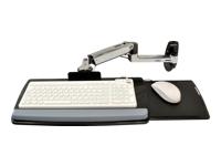 Bild von ERGOTRON LX Tastaturschwenkarm fuer Wandmontage bis 2,2kg Reichweite von bis zu 64 cm anheben schwenken neigen