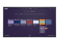 Bild von NEC MultiSync M551 MPi4 139,7cm 55Zoll M-Series Large Format Display UHD 500cd/m2 E-LED backlight 24/7 proof SDM Slot MPi4